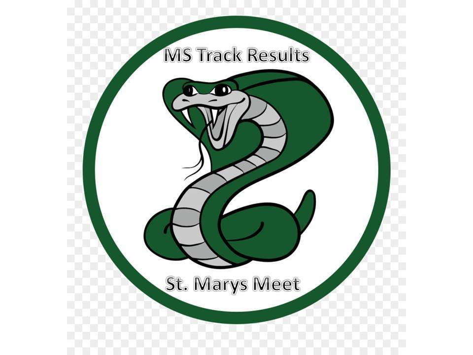 MS Track Teams Perform Well at First Meet
