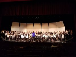 JHES Students Participate in Honor Choir