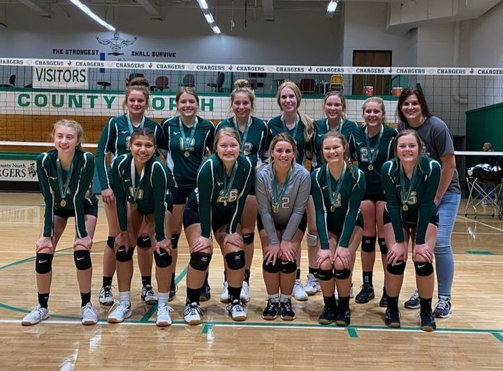 JV VB team earns 1st place in JCN tourney