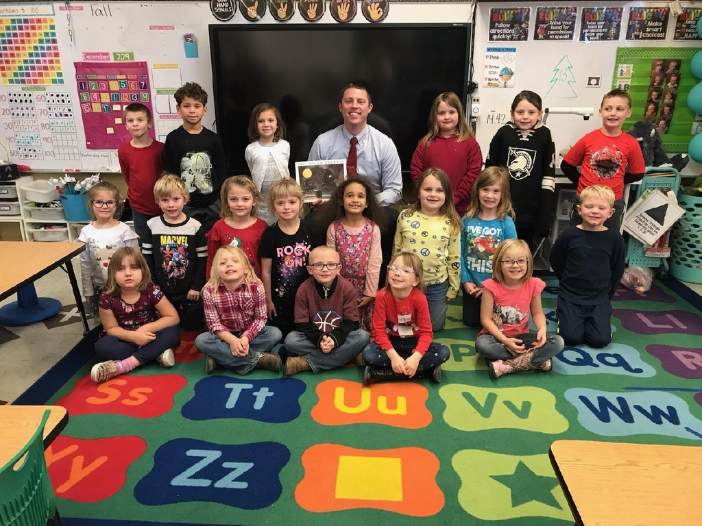 Mr.Witte with kindergarten